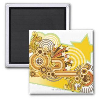 Machine Design Square Magnet