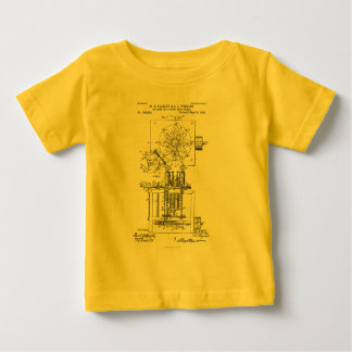 Machine for Pasting Shoes  Maria Beasley, Inventor Baby T-Shirt