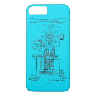 Machine for Pasting Shoes  Maria Beasley, Inventor iPhone 8 Plus/7 Plus Case
