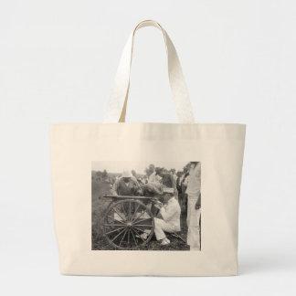 Machine Gun 1917 Tote Bag