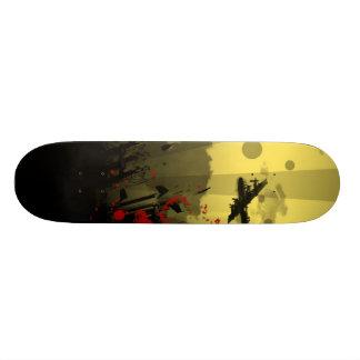 Machine Gun Man Skateboard