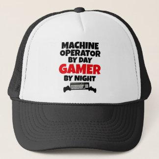 Machine Operator by Day Gamer by Night Trucker Hat