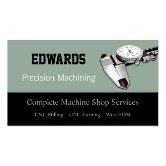 Machine Shop Business Card