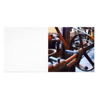 Machine Shop Photo Card Template