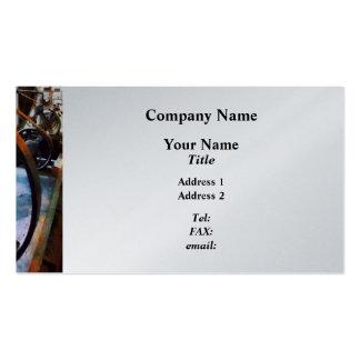 Machine Shop  - Platinum Finish Business Cards