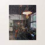 Machine Shop With Lantern Jigsaw Puzzles