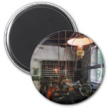 Machine Shop With Lantern Magnets