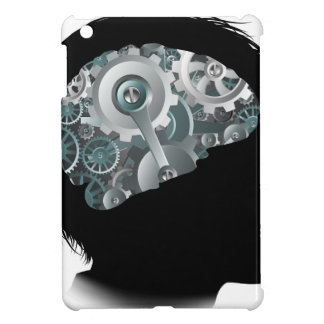 Machine Workings Gears Cogs Brain Child Concept iPad Mini Cases