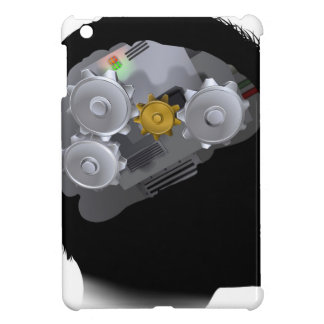 Machine Workings Gears Cogs Brain Man iPad Mini Cases