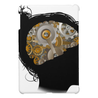 Machine Workings Gears Cogs Brain Woman Cover For The iPad Mini