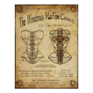 MachineCorset Poster