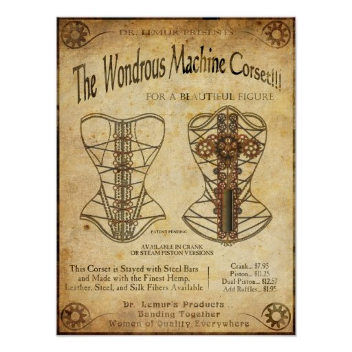 MachineCorset Poster