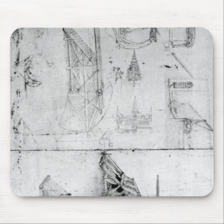 Machinery designs, fol. 394v mouse pad