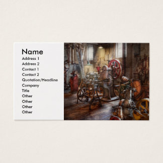 Machinist - A room full of memories Business Card