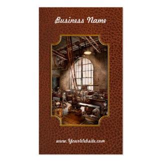 Machinist - I like big tools Business Cards