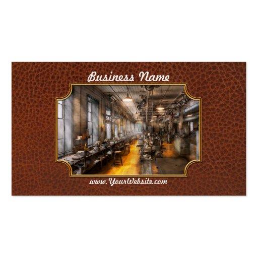 Machinist - Santa's old workshop Business Card