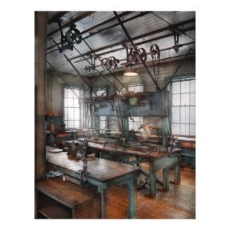 Machinist - Steampunk - The contraption room 21.5 Cm X 28 Cm Flyer