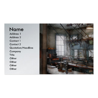 Machinist - Steampunk - The contraption room Business Cards