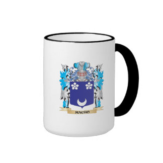 Macho Coat of Arms - Family Crest Coffee Mugs