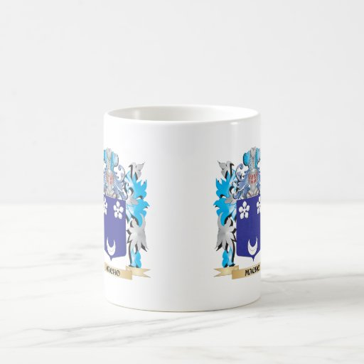 Macho Coat of Arms - Family Crest Mugs
