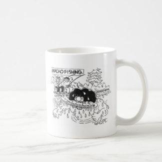 Macho Dishing! Basic White Mug