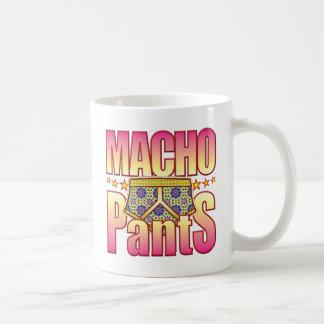 Macho Flowery Pants Coffee Mugs