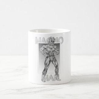 Macho Man Basic White Mug