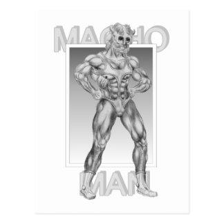 Macho Man Postcard