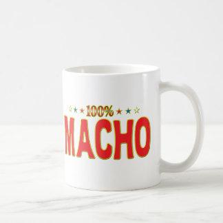 Macho Star Tag Mugs