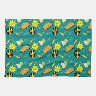 Macho Taco Tea Towels