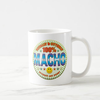 Macho Totally Basic White Mug