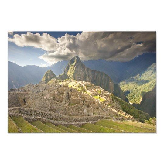 Machu Picchu, ancient ruins, UNESCO world 2 Photo