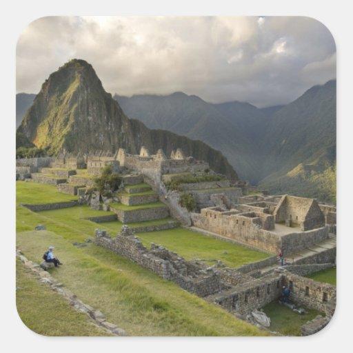 Machu Picchu, ancient ruins, UNESCO world Sticker