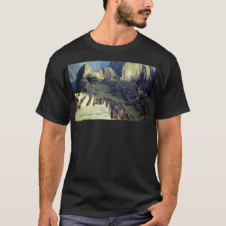 'Machu Picchu at Dawn' dark T-Shirt