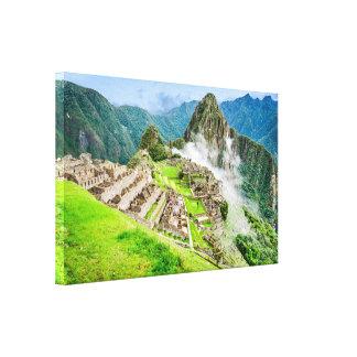 Machu Picchu Canvas, Peru, South America Canvas Print