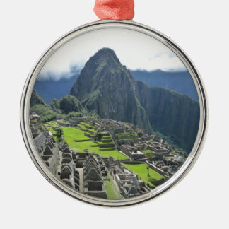 Machu Picchu Christmas Ornament