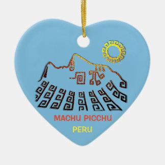 Machu Picchu Cusco Peru Christmas Ornament