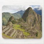 Machu Picchu, inca city in Peru mousepad