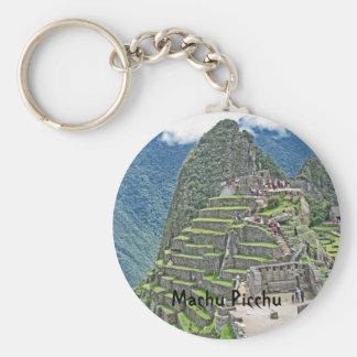 Machu Picchu Key Ring
