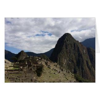 Machu Picchu Notecard Cards