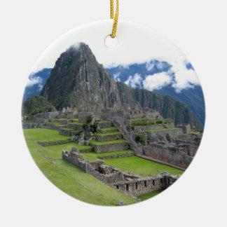 Machu Picchu Ornament