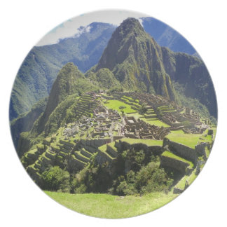 Machu Picchu Party Plate