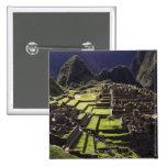Machu Picchu, Peru 15 Cm Square Badge
