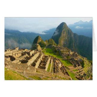Machu Picchu, Peru Blank Card