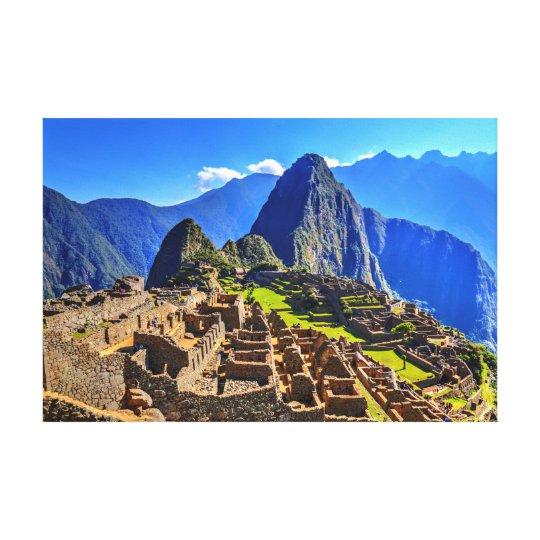 Machu Picchu - Peru Canvas Print