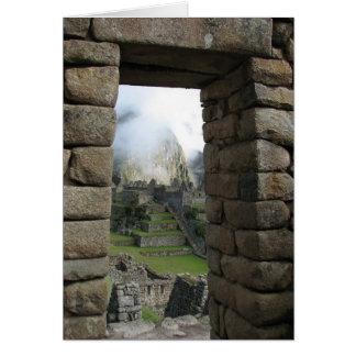 Machu Picchu Peru Cards