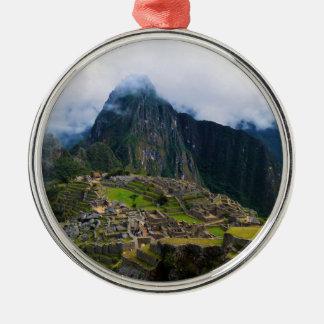 Machu Picchu, Peru Christmas Ornament