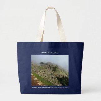 Machu Picchu, Peru Large Tote Bag