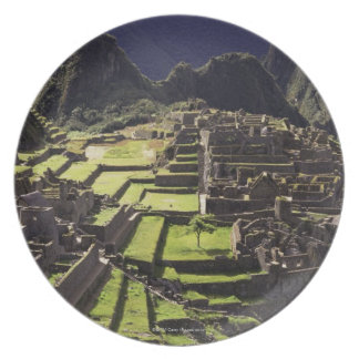 Machu Picchu, Peru Plate
