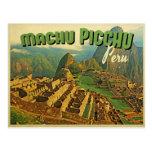 Machu Picchu Peru Post Card
